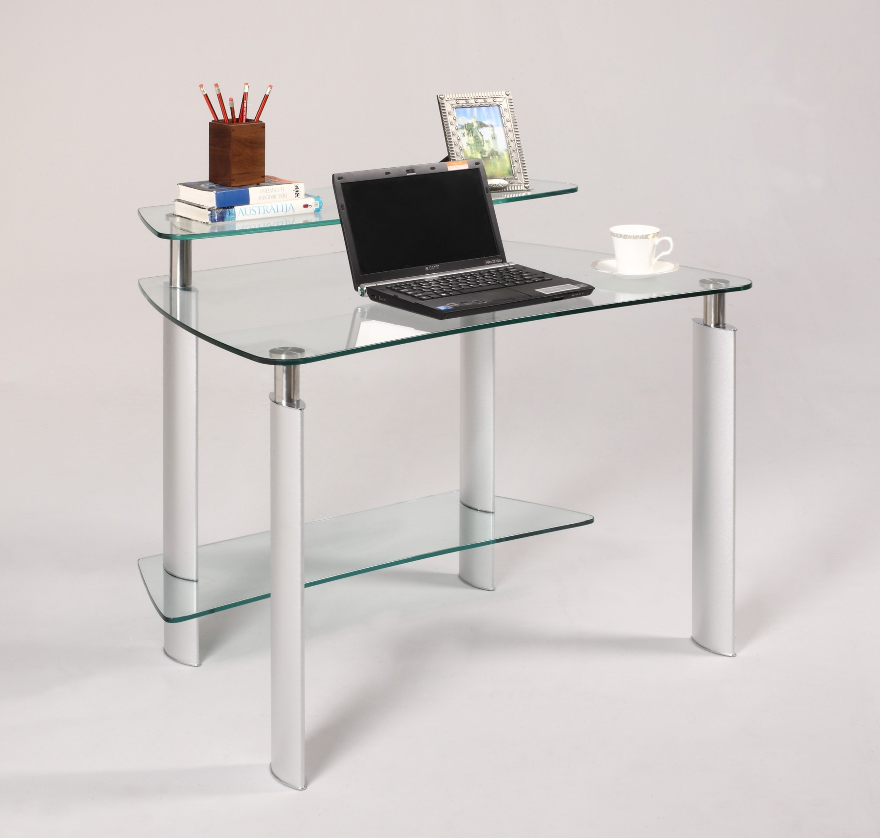 Modern Computer Desk Glass