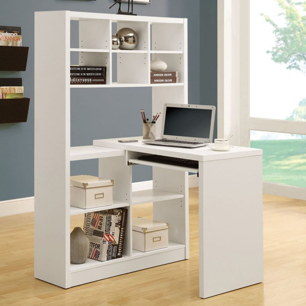 Small L-Shaped Desk For Computer