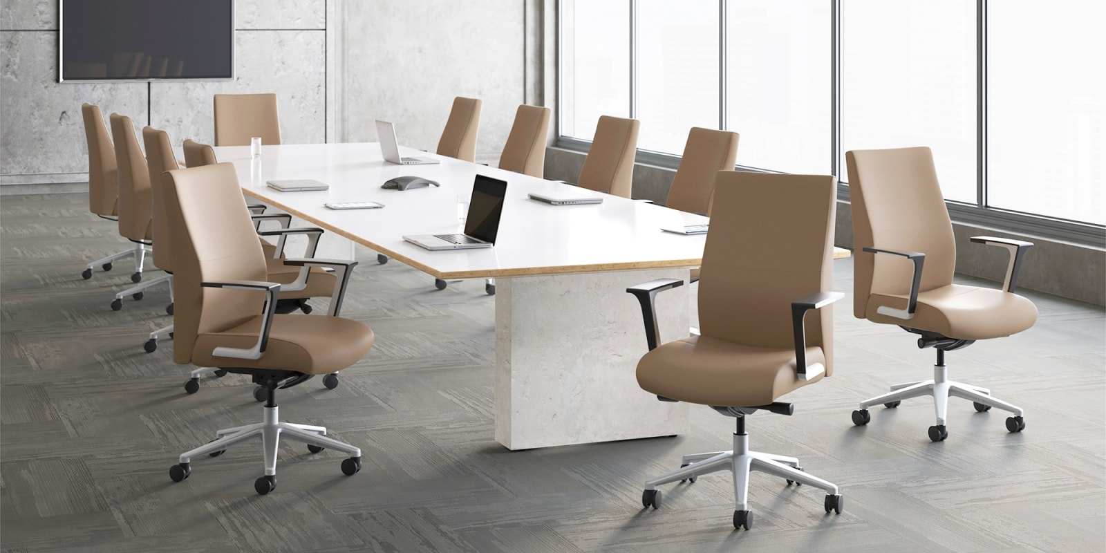Ergonomic Executive Conference Room Chairs