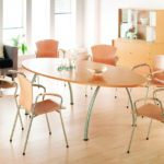 Wood Modern Conference Room Chairs