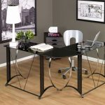 Glass Small Office Table