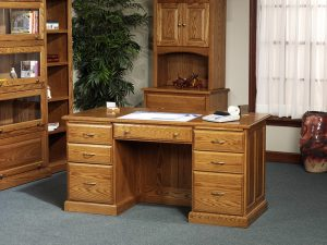 Wood Executive Office Table