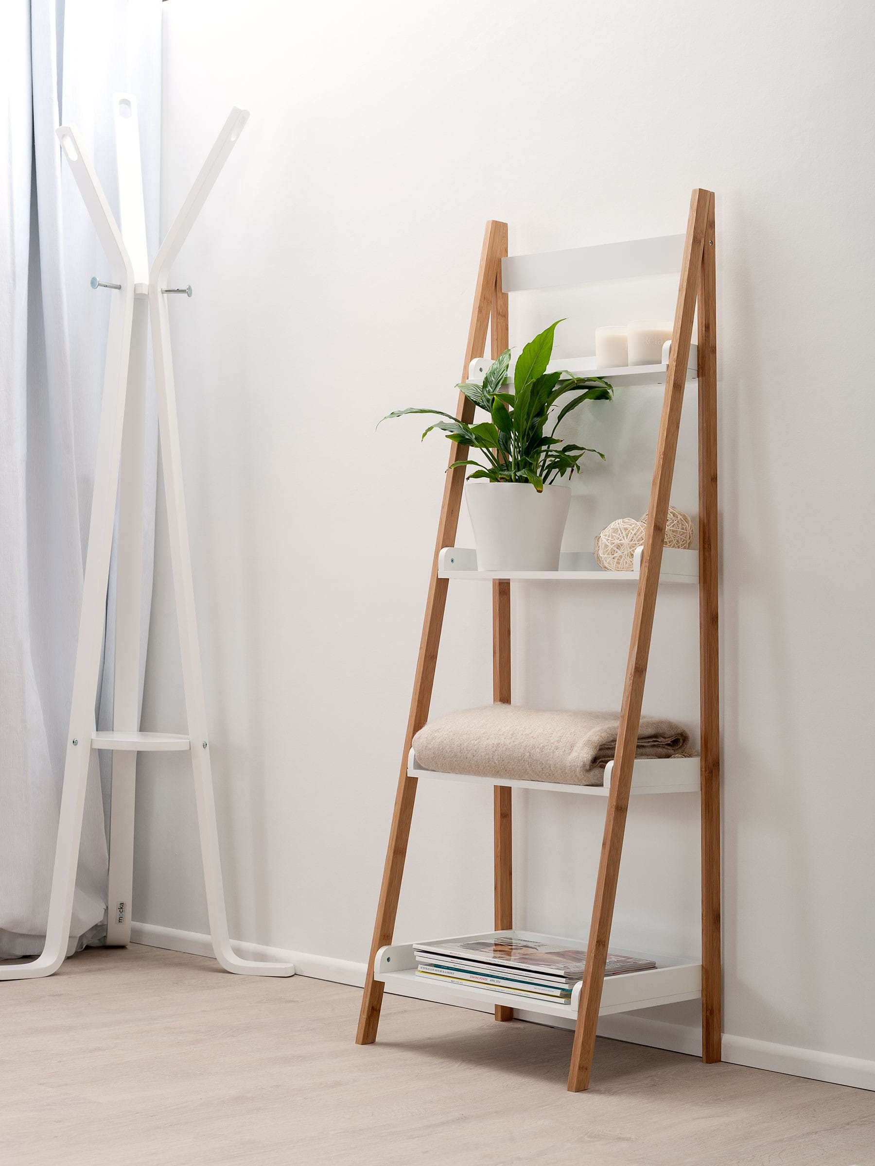 Attractive Ladder Bookcase