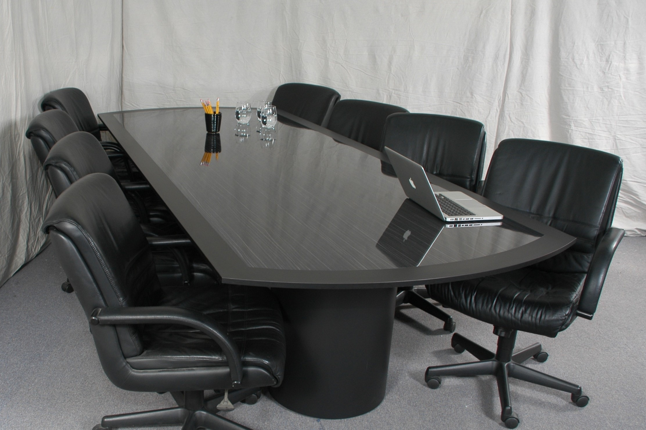 Great Black Conference Table