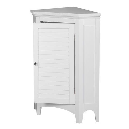 Luxury Corner Bookcase White