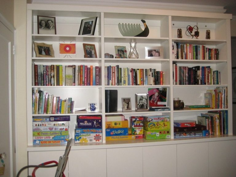 The Best Wall Bookcase