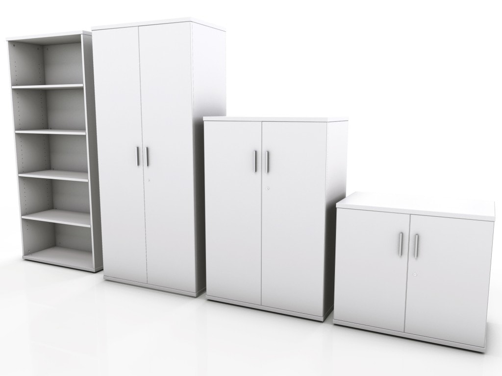 Nice White Office Storage