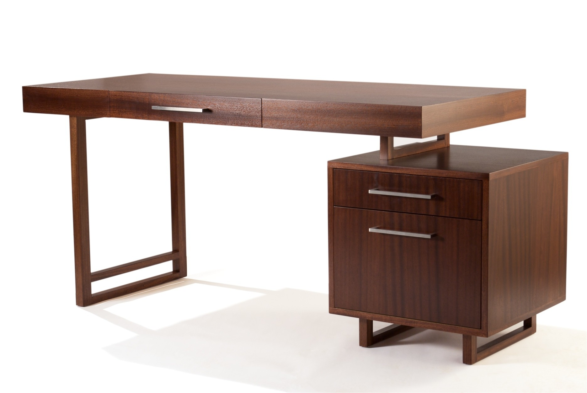 Simple Small Desk With Drawers