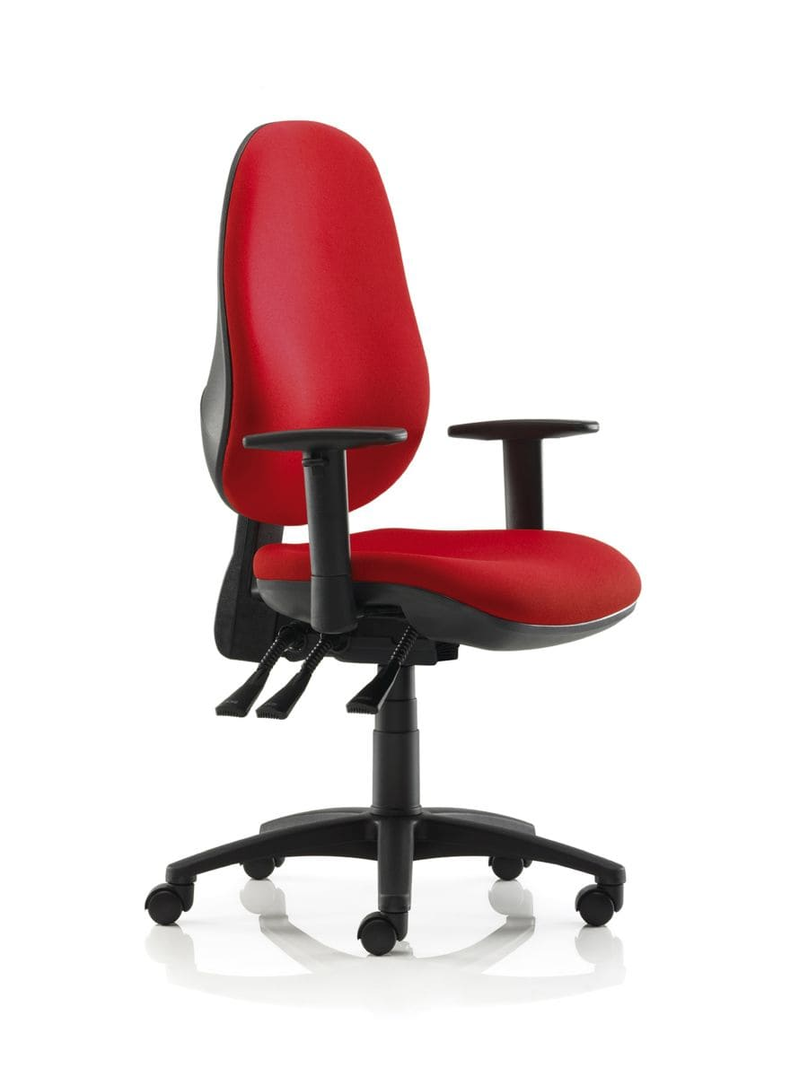 Awesome Red Swivel Desk Chair